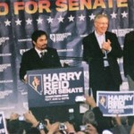Pacquiao stumps for Harry Reid in Nevada