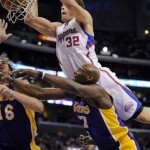 Late ejections mar Clippers' 99-92 win over Lakers