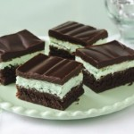 Festive St. Patrick's Day brownies