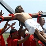 Good Friday crucifixions in Philippines