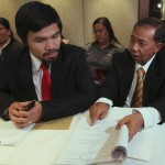 Pacquiao asked: Why transfer taxes when you're running?