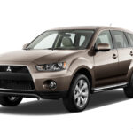2012 Mitsubishi Outlander Sport awarded Insurance Institute for Highway Safety (IIHS) 'Top Safety Pick'