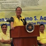 President Aquino urges members of the Liberal Party to live by its principle of putting the good of the country above everything