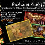 2012 Paskong Pinoy to be held on December 2 at Catholic University