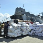 Philippine military working with Indonesian authorities in search for missing typhoon victims at sea