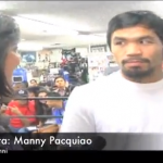 Manny Pacquiao pre-fight interview