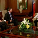 President Aquino welcomes top officials of leading management consulting and business process outsourcing company