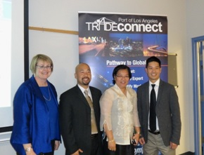 Ms. Sally Starr, California State University Director for Community Outreach and Workforce Strategy, Mr. Ken Duong, TDL International Law Firm, Con. Gen. Barber De La Vega, and Mr. Nguyen Thanh Tam MD, MBA.