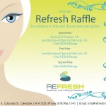 Refresh: Aesthetic & Lifestyle Medicine Raffle Contest