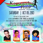 All systems go for Kapamilya Run in Burbank, CA on Oct 5