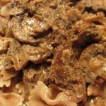 Meat-Free Favorites : Meat-Free Beef Stroganoff