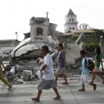 Boholanos & Cebuanos distraught at damage of historical churches