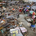 'Help Us': Isolated typhoon victims clamor for food