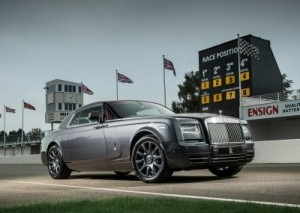 The Rolls-Royce Phantom Coupe Chicane, pictured at the Goodwood Motor Circuit. ©Rolls-Royce