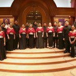 UST singers alumni performs in a Christmas concert