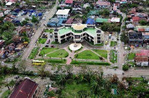 Aerial shot of the province of which was heavily damaged by super typhoon Yolanda (MNS photo)