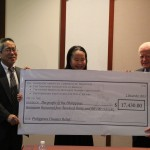 13-year-old Taiwanese-American school girl helps raise $17,430 for typhoon victims