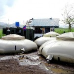 New storm wrecks typhoon victims' shelters