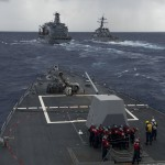 US, PHL start naval drills near China-claimed waters
