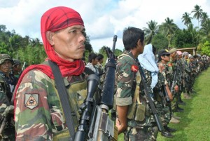 Thousands have died between Muslim and government troopers since the 70s. The Moro National Liberation Front or MNLF (shown above are some of its Muslim rebels) says it considers the breakthrough in the peace talks between the Moro Islamic Liberation (MILF) and the Philippine government as a signal for it to finally pursue full independence for Mindanao. (Photo from the MNLF Facebook page)