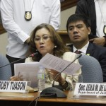 No direct 'pork' talks with Enrile, only with his former aide – Ruby Tuason