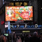 PHL thanks world for typhoon aid with billboards, tweets