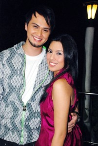 Billy Crawford and Nikki Gil (MNS photo)