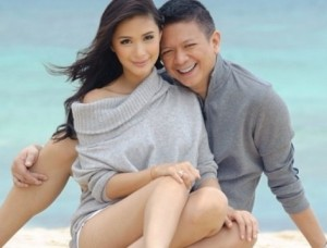 Heart Evangelista and Senator Chiz Escudero (MNS Photo)