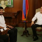 Pacquiao pays courtesy call on Aquino