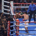Pacquiao reclaims WBO welterweight belt, Bradley undefeated no more