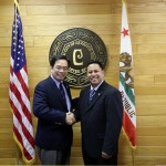 ConGen Herrera-Lim meets Fil-Am Cerritos Mayor Mark Pulido