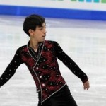 Filipino  Olympic Figure Skater Michael Martinez in Carson June 7