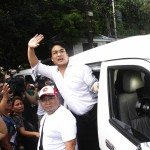 Revilla back in Camp Crame after undergoing medical tests