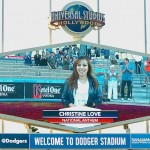 Christine Love joins other Fil-Am talents to national anthem in major league