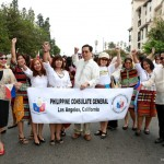 PHL Consulate officials join Fil-Ams in PHL Independence Day parade