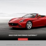 Customize the new Ferrari California T online