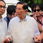 Enrile ready to go home, to report to work tomorrow, lawyer says