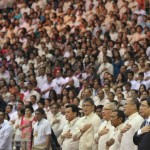 Pro-Aquino reformists also reject pork barrel