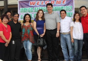 Tacloban City Mayor in Cerritos: Mayor Alfred Romualdez of Tacloban City and his wife Cristina visited Cerritos upon the invitation of Tacloban City Association of California and gave an update of the rehabilitation and rebuilding efforts in province brought about by Typhoon Yolanda more than eight months ago.