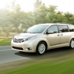A family van affair: 2015 Toyota Sienna, the only van in its segment available with all-wheel drive