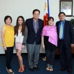 Diana Gonong pays courtesy call on ConGen Lim