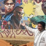 Signage for largest Fil-Am mural in US unveiled