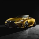 Lexus open-top concept unveiled in LA