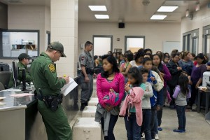 CBP Processing Unaccompanied Children: South Texas Border - U.S. Customs and Border Protection provide assistance to unaccompanied alien children after they have crossed the border into the United States. Photo provided by: Hector Silva/US Customs Border Patrol