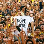 Pope Francis: Filipinos' joy is genuine
