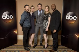 """TCA WINTER PRESS TOUR 2015 - """"The Whispers"""" - The cast and executive producers of """"The Whispers"""" at Disney 