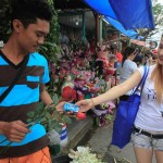Condoms vs chocolates in the PHL on Valentine's Day