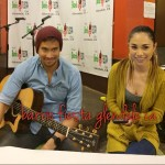 Sam Milby and Jessica Sanchez jam together at Barrio Fiesta Glendale