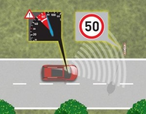 Ford S-Max intelligent speed limiter ©Ford