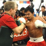 Pacquiao starts well in pre-Mayweather sparring